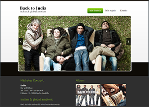 Back to India • Indian & global ambient band